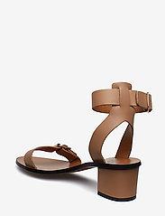 ATP Atelier - Carmen Almond Vacchetta - korolliset sandaalit - almond - 2