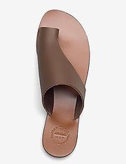 ATP Atelier - Rosa Khaki Brown Vacchetta - platta sandaler - khaki brown - 3