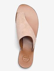 ATP Atelier - Rosa Sand Suede - platta sandaler - sand - 3