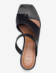 ATP Atelier - Pittuini Black Vacchetta - högklackade sandaler - black - 3