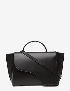 Volterra Black Vacchetta - fashion shoppers - black