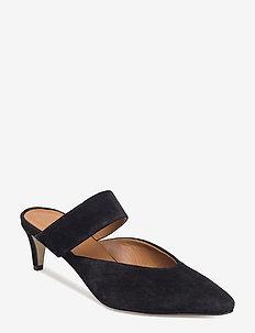 Vaie Suede - højhælede sandaler - black
