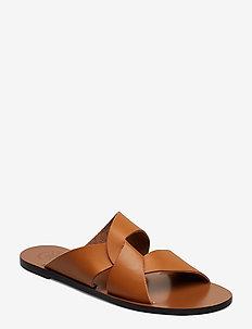 Allai Vacchetta - flade sandaler - terra