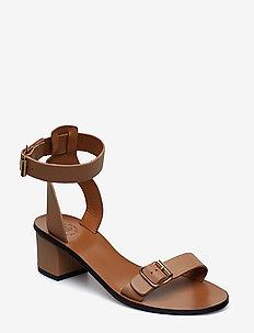 Carmen Almond Vacchetta - högklackade sandaler - almond