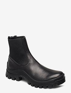 Catania Vacchetta - ankelstøvler med hæl - black