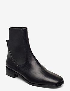 Vernazza Black Vacchetta - flade ankelstøvler - black