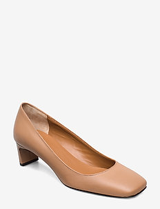 Bari - klassiske pumps - almond