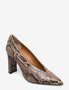 Sanarica - klassiske pumps - brown