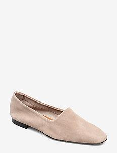 Andrano Suede - ballerinasko - greyish