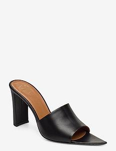 Tuturano Black Vacchetta - högklackade sandaler - black