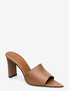Tuturano Vacchetta - højhælede sandaler - almond