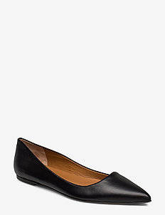 San Cataldo Black Nappa - ballerinas - black