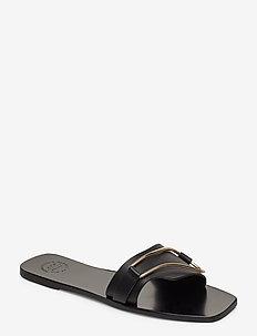 Urmo Black Vacchetta - platta sandaler - black