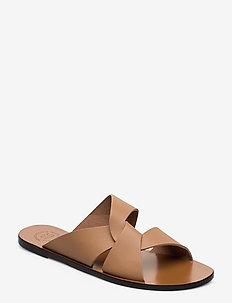 Allai Almond Vacchetta - platta sandaler - almond