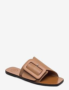 Ceci Almond Vacchetta - platta sandaler - almond