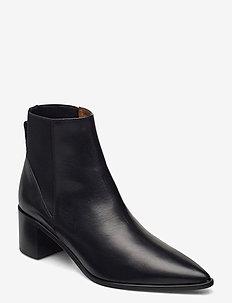 Donaci Vacchetta - ankelstøvler med hæl - black