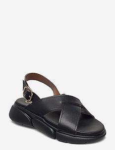 Barisci Black Vacchetta - flade sandaler - black