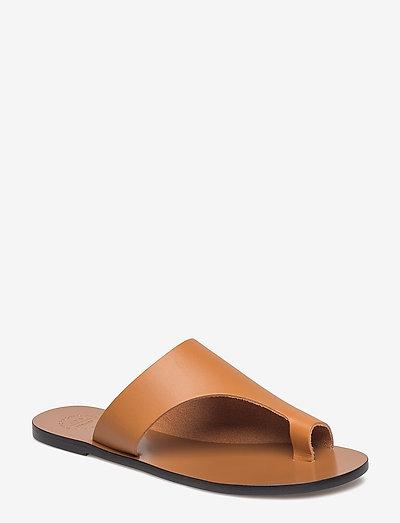 Rosa Terra Vacchetta - płaskie sandały - terra