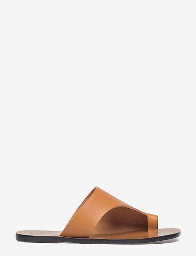 Rosa Terra Vacchetta - platta sandaler - terra