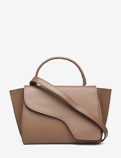 Arezzo Khaki Brown Vacchetta - bags - khaki brown