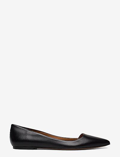 San Cataldo Black Nappa - shoes - black