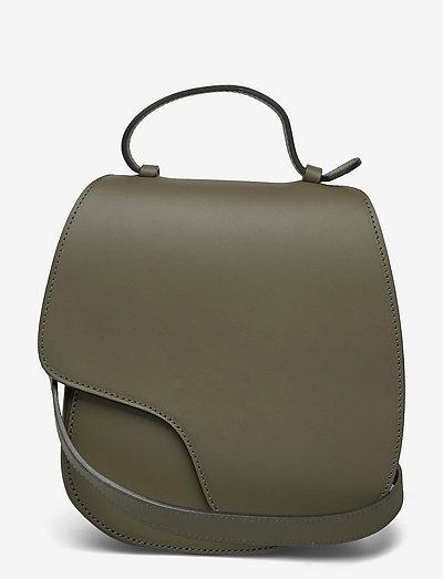 Carrara Turtle Vacchetta - shoulder bags - turtle