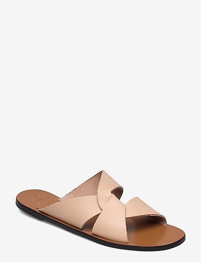Allai Sand Vacchetta - platta sandaler - sand