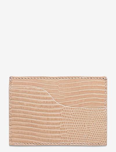Vinci Printed Watersnake - korthållare - light beige