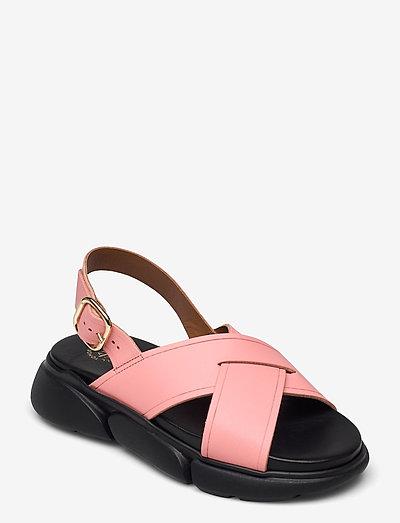 Barisci Candy Pink Vacchetta - platta sandaler - candy pink