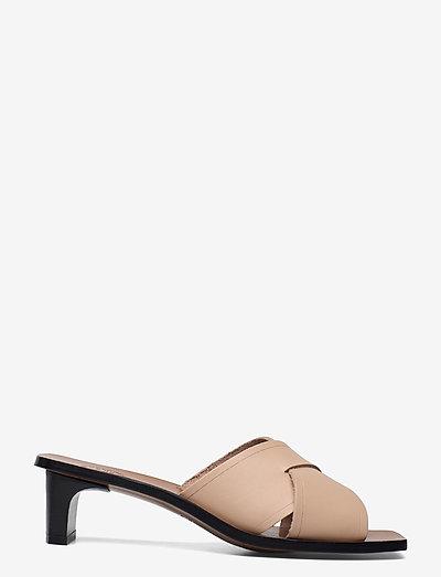 Stornarella Sand Vacchetta - bridal shoes - sand