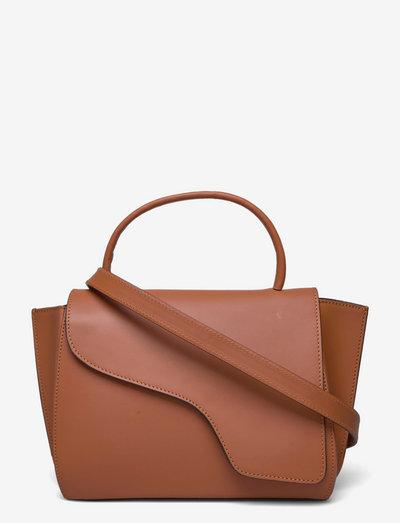 Arezzo Brandy Vacchetta - shoulder bags - brandy