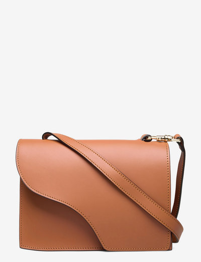 Siena Brandy Vacchetta - shoulder bags - brandy