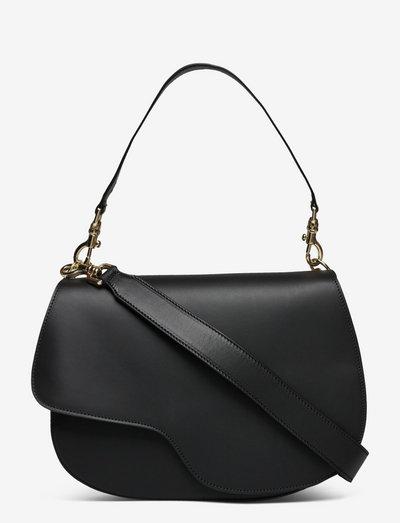 Ortelle Black Vacchetta - bags - black