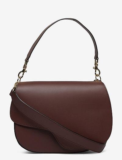 Ortelle Nebbiolo Vacchetta - shoulder bags - nebbiolo