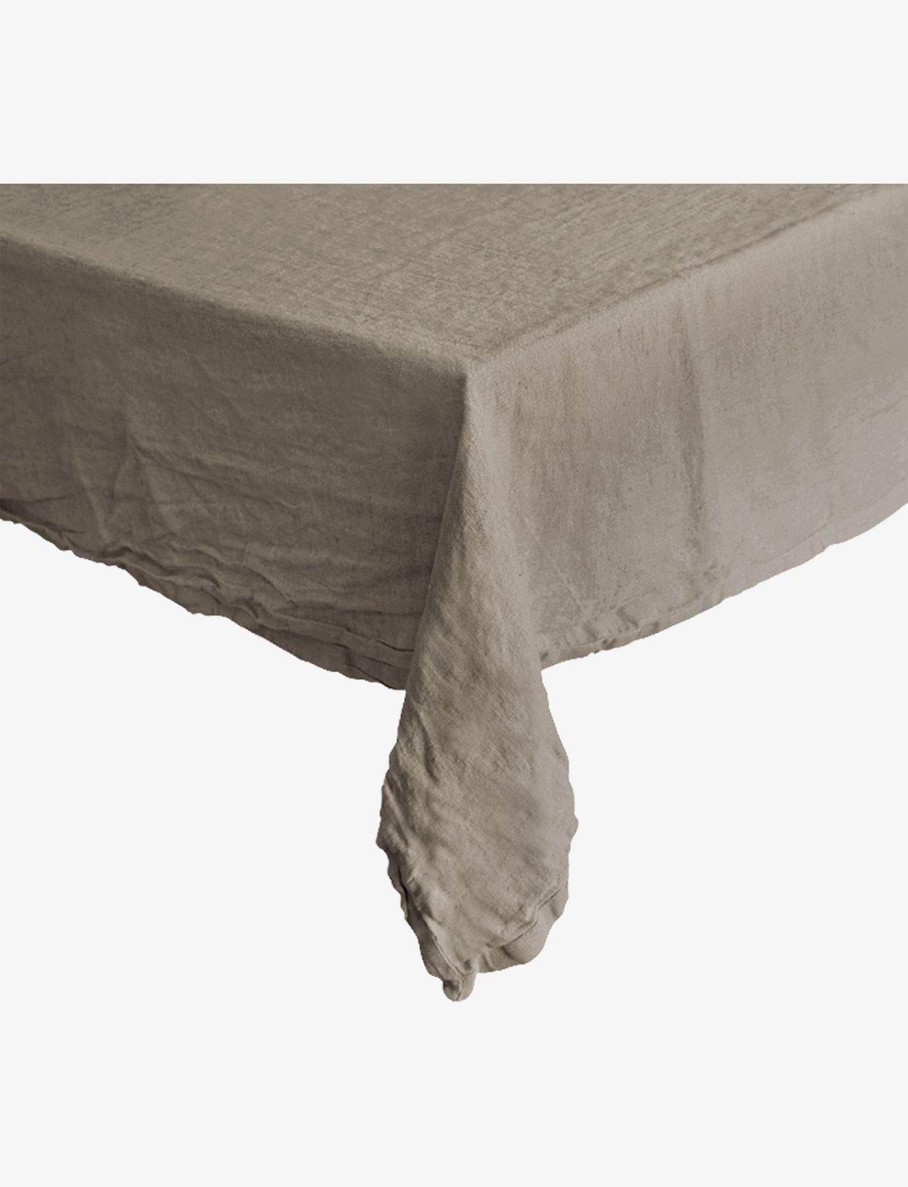 Au Maison - Table cloth Linen Basic Washed - duker & løpere - natural - 0