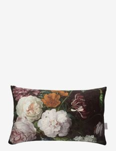 Cushion cover Botanic Maxima - puter - black