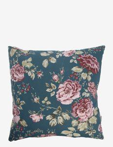 Cushion cover Sophia - puter - dusty petrol