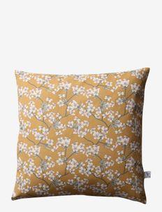 Cushion cover Amalie - puter - mustard