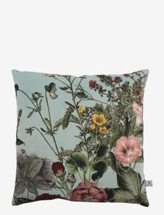 Cushion cover Meadow - puter - mint