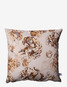 Cushion cover Blossom - puter - creme