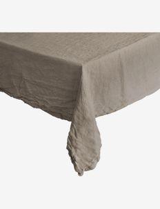 TableclothLinen BasicWashed - nyheter - natural