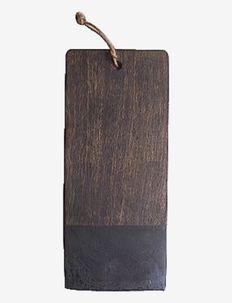 Cutting board - skjærebrett - dark brown