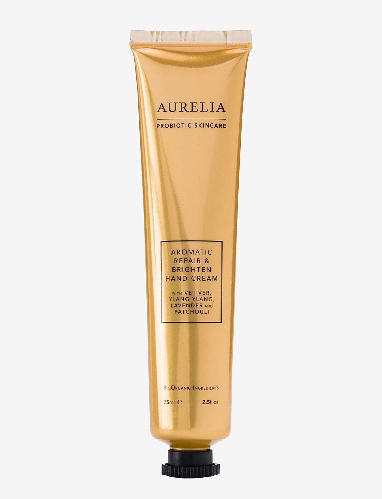Aurelia Probiotic Skincare - Aromatic Repair & Brighten Hand Cream 75 ml. - käsivoide ja jalkavoide - clear - 0