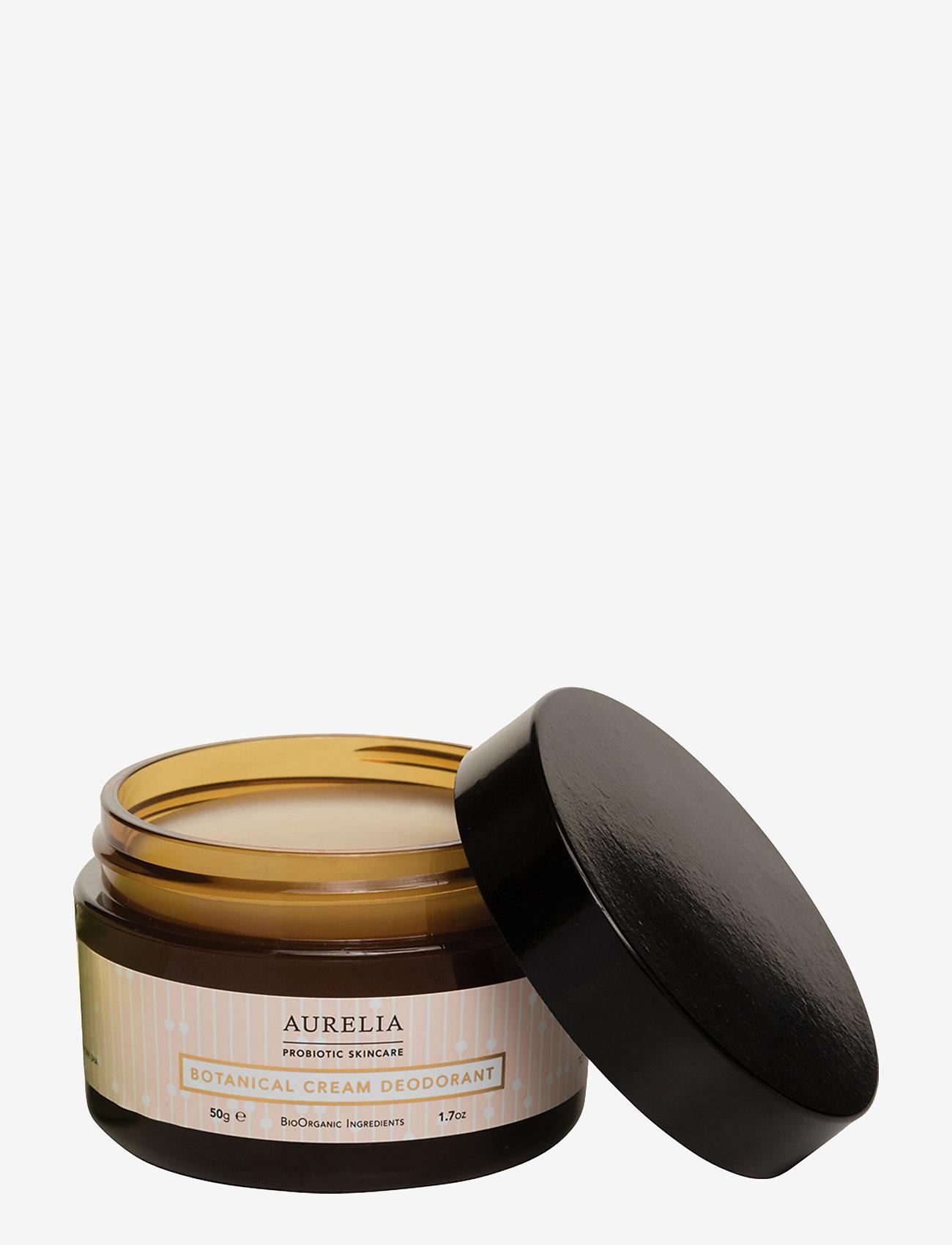 Aurelia Probiotic Skincare - Botanical Cream Deodorant 50 g. - deostift & cremer - clear - 0