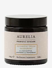 Aurelia Probiotic Skincare - Botanical Cream Deodorant 110g - deostift & krämer - clear - 0