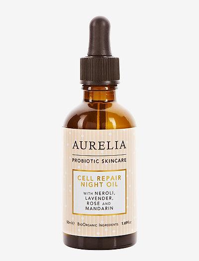 Cell Repair Night Oil 50ml - ansiktsoljer - clear