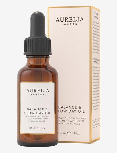 Balance & Glow Day Oil 30ml - ansiktsoljer - clear