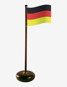 Table flagpole, Germany - accessoires décoratifs - walnut
