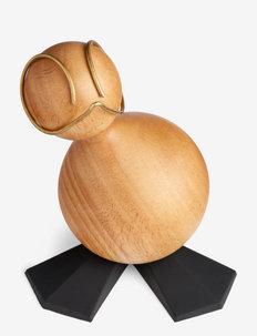 The Ugly Duckling, large - figurines en bois - black