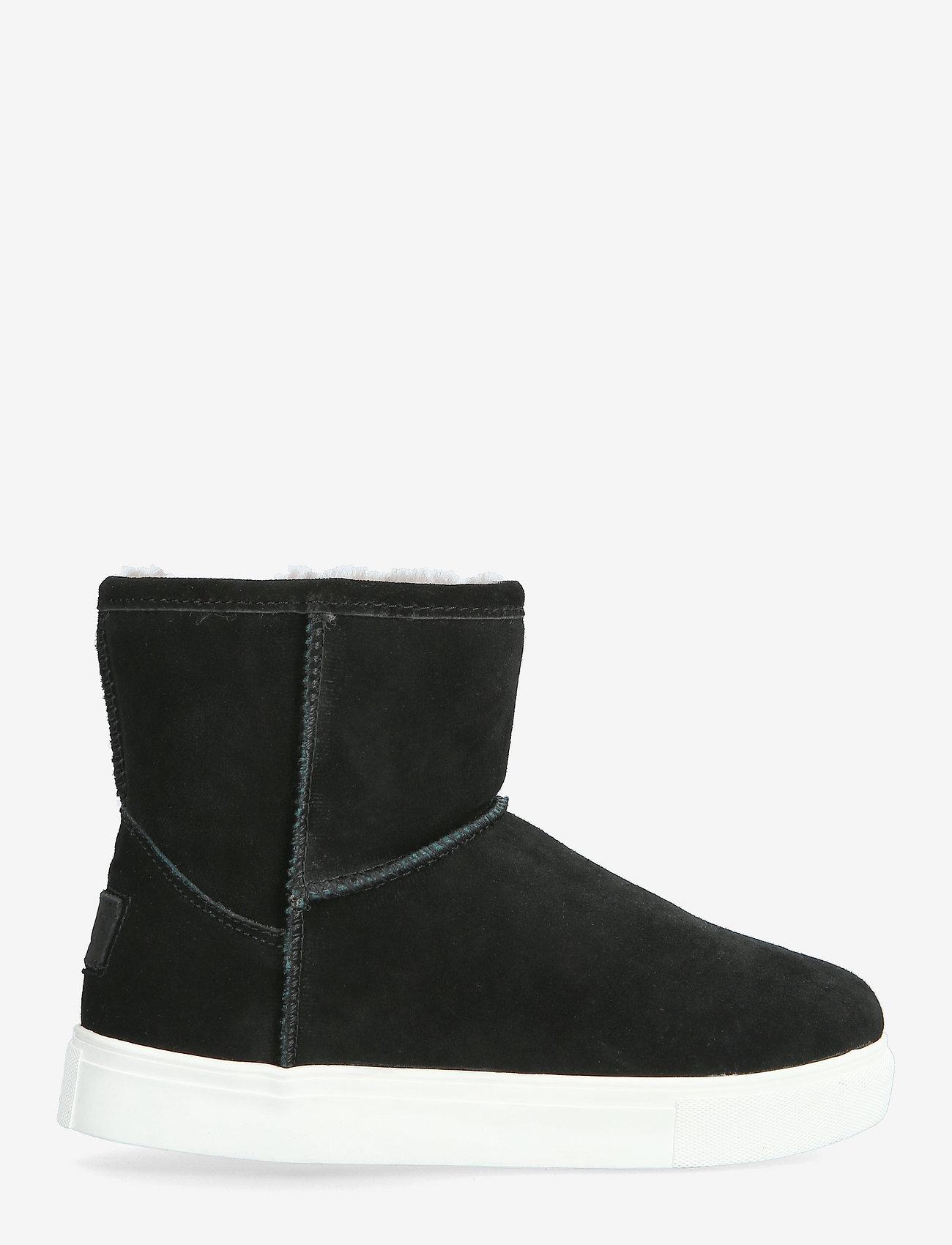 Axelda for Feet - Basel - flade ankelstøvler - black/white - 0